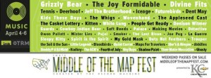 Ink's Middle of The Map Festival, curated by The Record Machine, April 4-6