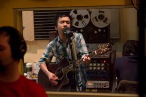 Vi Tran in Element Recording Studio