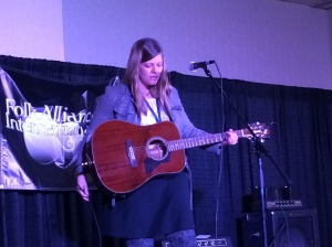 Sara Swenson at Folk Alliance International
