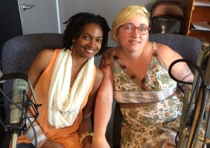 Mz Angela Roux & Jeanette Powers of Uptown Arts Bar
