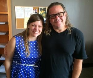 Sara Swenson and Mark Manning