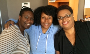 Cynthia Hardeman, Teresa Leggard, and Michelle T. Johnson on Wednesday MidDay Medley (7/16/14)
