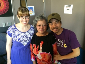 Mackenzie Goodwin, Mama Tran, and Vi Tran joined us live in the 90.1 FM studios, August 6, 2014, for Wednesday MidDay Medley, on KKFI 90.1 FM.
