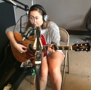 Margo May playing live on Wednesday MidDay Medley, September 17, 1014
