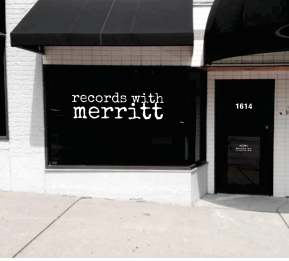 Records With Merritt, 1614 Westport Road, Kansas City, Missouri 64111. More info at: www.recordswithmerritt.com