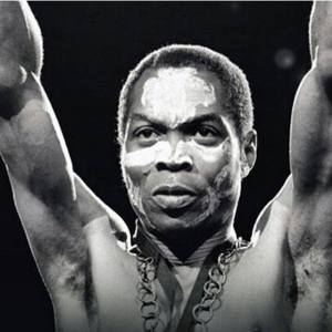 Fela Kuti was born October 15, 1938 and died August 2, 1997. He was a Nigerian multi-instrumentalist, musician, composer, pioneer of the Afrobeat music genre, human rights activist, and political maverick.
