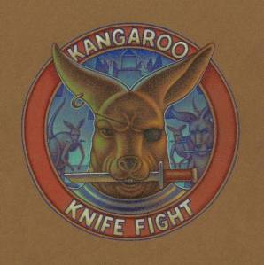 Kangaroo Knife Fight CD cover art by Thomas Sciacca.
