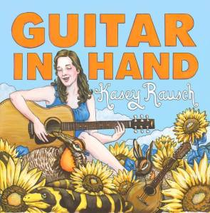 GUITAR IN HAND cover art by Sonya Andrews