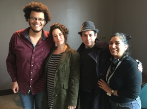 Guests of Wednesday MidDay Medley meet guests of ARTSPEAK RADIO, with Calvin Arsenia, Renee Cinderhouse, Hector Casanova Cinderhouse, and ARTSPEAK RADIO host/producer - Maria Vasquez Boyd.