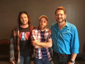 Matthew Hayden, Brent Jamison, and Michael Tipton of Kodascope