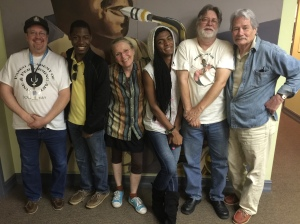 David Luby, Khalil Odum, Judith Walcutt, Jordan Taylor, Barry Lee, David Ossman talking about The Mark Time Awards on Wednesday MidDay Medley, June 10, 2015.