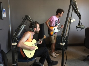 Christopher Luxem, James Thomblison, on Wednesday MidDay Medley, July 1, 2015.