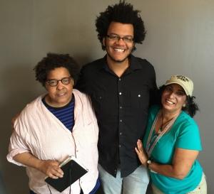 Marion Merritt, Calvin Arsenia, and Maria Vasquez Boyd