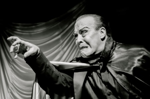 Photo of Michael McQuary as Bela Lugosi by Mike Strong Photography