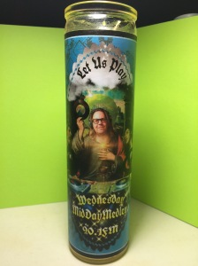 Ltd. Edition, WMM Prayer Candle, from Kitschup Creations