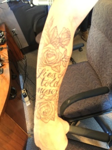 Ty Herndon's tattoo