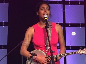 Leyla McCalla at Folk Alliance International, Fridy, February 19, 2016