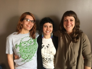The Ovaries-eez: Johni Lacore, Monica George, and Amber Hansen