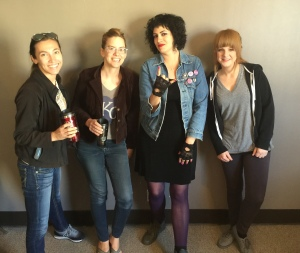 Katy Guillen, Claire Adams, Fally Afani, and Stephanie Williams on the May 4, 2016 Wednesday MidDay Medley.
