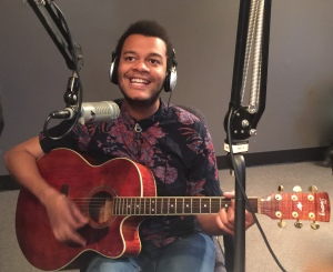 Calvin Arsenia plays live on the July 13, 2016 edition of Wednesday MidDay Medley