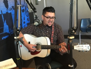 Chico Sierra plays live on the August 10, 2016 edition of Wednesday MidDay Medley on KKFI.