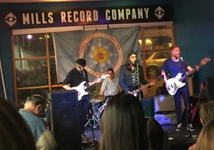 SALAR at the Stand Up for Standing Rock #waterislife Benefit at Mills Record Company, Saturday, November 19, 2016