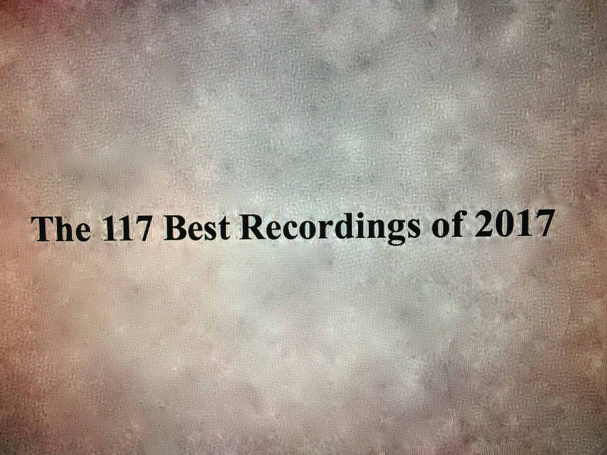 The 117 Best Recordings Of 2017 Wednesday Midday Medley