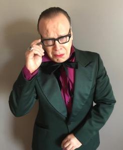 bc22829880 Michael McQuary as Boris Karloff on the October 31